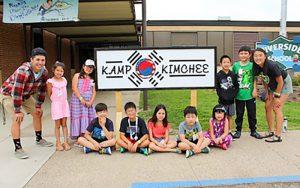 Jaes Class at Kamp Kimchee