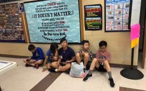 Students at Kamp Kimchee